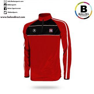 Ballyjamesduff AFC 1/4 zip Training Top-0